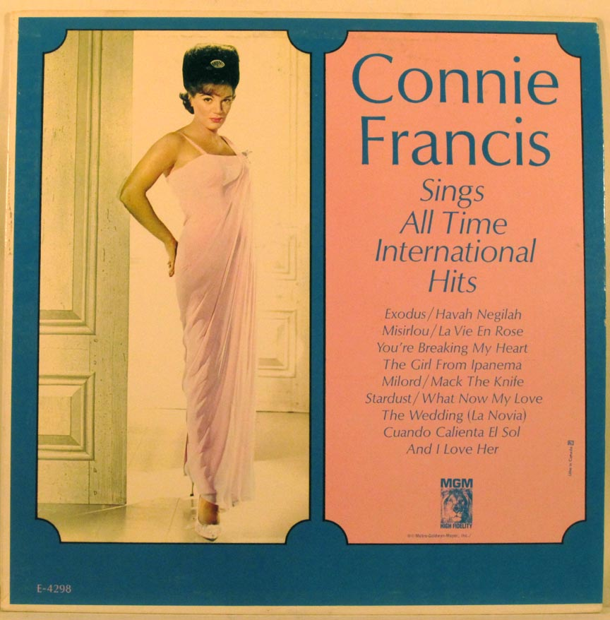Connie Francis - Sings